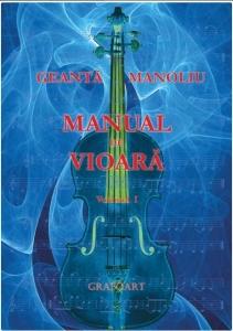 Geantă Manoliu: Manual de vioară (vol.1)