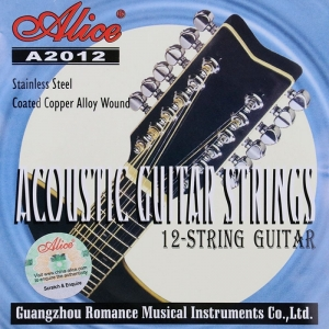 Corzi chitara acustica 12 corzi Alice A2012