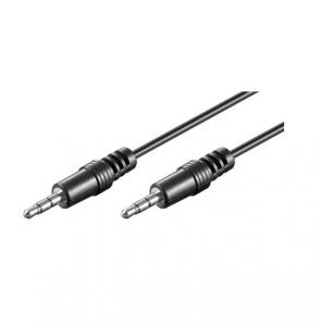 Cablu audio Jack Stereo 3.5mm - 3.5mm tata - 1.5m