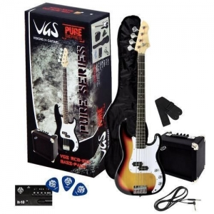 Set de Chitara Bass - VGS RCB-100 Bass Pack Sunbur...