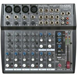 Mixer Phonic MU1202X