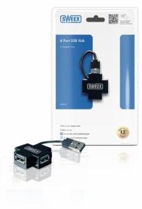 Hub USB 2.0 cu 4 porturi Sweex