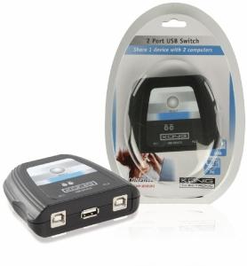 Comutator USB 1xUSB A -> 2xUSB B Konig