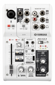 Mixer analog Yamaha AG03 cu interfata audio USB 2 ...