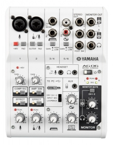 Mixer analog Yamaha AG06 cu interfata audio USB 2 ...