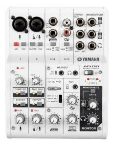 Mixer analog Yamaha AG06 cu interfata audio USB 2 ...