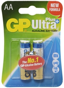 GP Baterie Ultra Alcalina R6 AA GP15AUP-2UE2