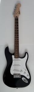 Chitara electrica Fender Squier Bullet Strat BK - ...