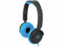 Căști multimedia cu microfon DJ605, albastre, Tr...