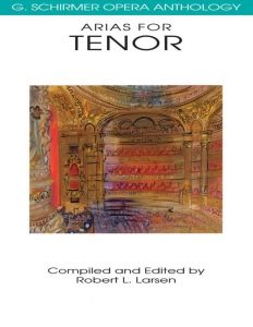 Arias For Tenor (New Anthology)