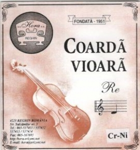 Coarda Vioara - CR NI Hora - D/Re