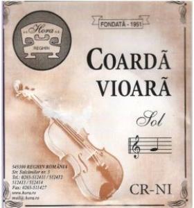 Coarda Vioara - CR NI Hora - G/Sol