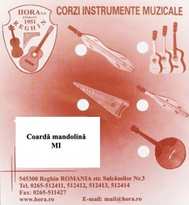 Coarda Mandolina - Hora - E/Mi