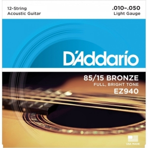 Corzi Chitara Acustica - Daddario EZ940 - 12 corzi...