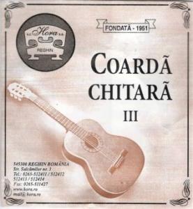 Coarda Chitara Acustica III Sol Hora