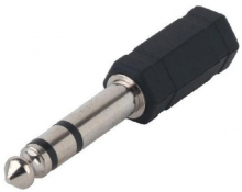 Adaptor Jack 3,5 mm la Jack 6,3 mm Stereo Alpha Au...