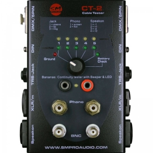 Cable Tester - SMProAudio - CT2