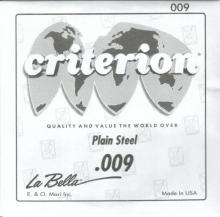 Coarda Chitara Electrica - La Bella 009 E1