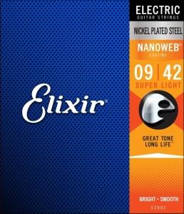 Corzi Chitara Electrica Elixir Nanoweb Electric Su...