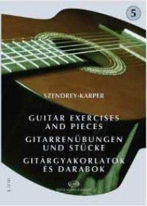 Szendrey-Karper László: Guitar Exercises and Pie...