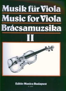 Szeredi-Saupe Gusztáv: MUSIC FOR VIOLA II