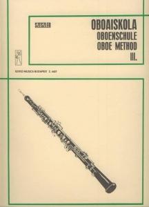 Szeszler Tibor: Oboe Tutor 3