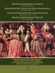 Bali János: French Renaissance Dances for four re...