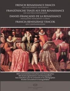 Bali János: French Renaissance Dances for four st...