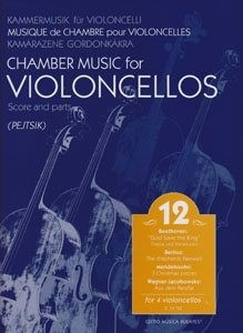 Pejtsik - Chamber Music for Violoncellos for 4 vio...