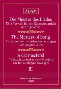 Ádám Jenő: THE MASTERS OF SONG 3