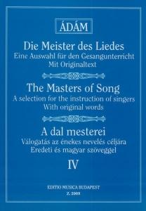 Ádám Jenő: THE MASTERS OF SONG 4