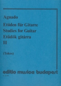 Aguado, Dionisio: Studies for guitar 2