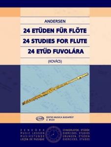 Andersen, Joachim: 24 Studies for flute