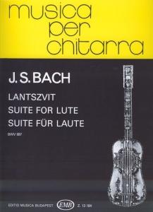 Bach, Johann Sebastian: Suite for lute, BWV 997
