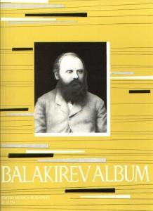 Balakirev, Mily: Album for piano