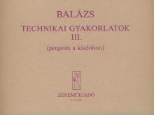 Balázs Oszkár: Technical Studies 3