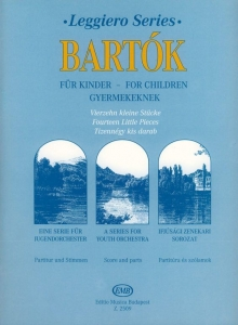 Bartók Béla: Fourteen Little Pieces from the Ser...