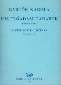 Bartók Karola: Little Performance Pieces