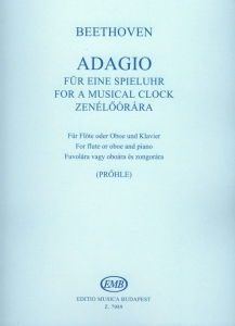Beethoven, Ludwig van: Adagio für eine Spieluhr W...