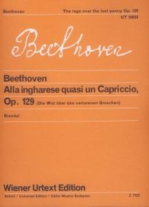 Beethoven, Ludwig van: Alla ingharese quasi un Cap...
